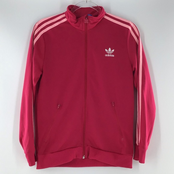 Adidas Girls Performance Jacket Pink LNC
